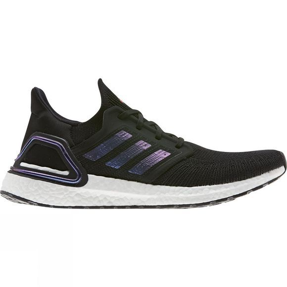 Adidas Mens Ultraboost 20 Core Black / Blue- SPACE PACK
