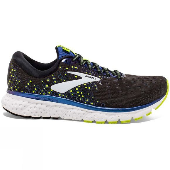Brooks Men's Glycerin 17 Black/Blue/Nightlife
