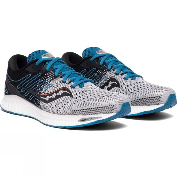 Saucony Mens Freedom ISO 3 Shoe Grey/Blue