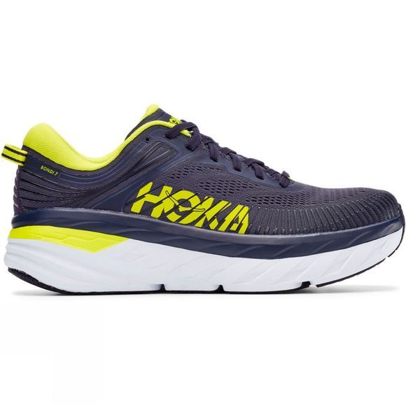 Hoka One One Men's Bondi 7 ODYSSEY GREY / DEEP WELL