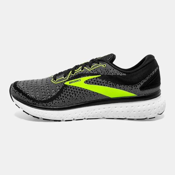 Brooks Men's Glycerin 18 Black/White/Nightlife