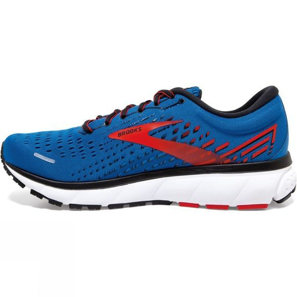 Brooks Men's Ghost 13 Blue/Red/White