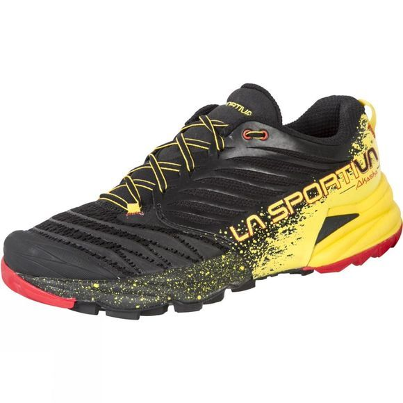 La Sportiva Men's Akasha Black/Yellow