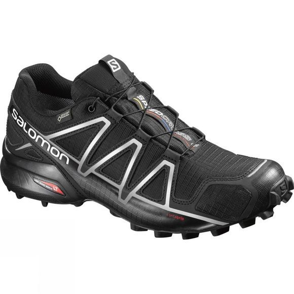 Salomon Men's Speedcross 4 Gore-Tex Black/Black/Silver Metalic-X