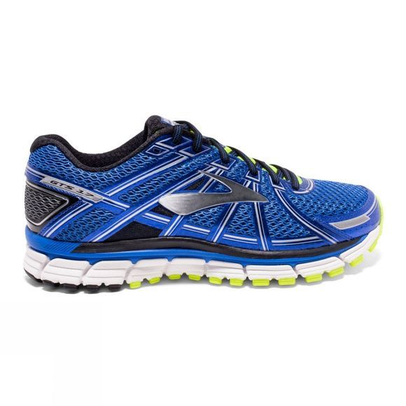 Brooks Mens Adrenaline GTS 17 (Wide) Electric Brooks Blue/Black/Silver