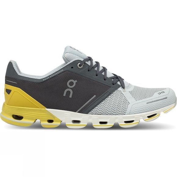 On Men's Cloudflyer Grey/Lime