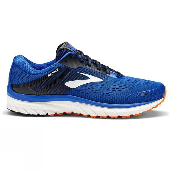 Brooks Mens Adrenaline GTS 18 - Wide Blue/Black/Orange