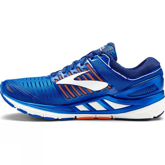 Brooks Mens Transcend 5 Blue/Orange/White