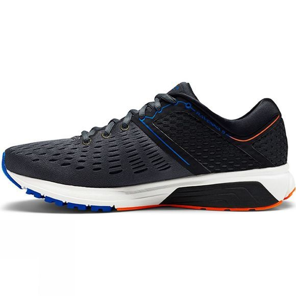 Brooks Mens Ravenna 9  Ebony/Blue/Orange