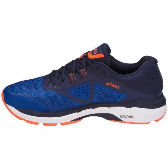 Asics Mens GT-2000 6 Imperial/Indigo Blue/Shocking Orange