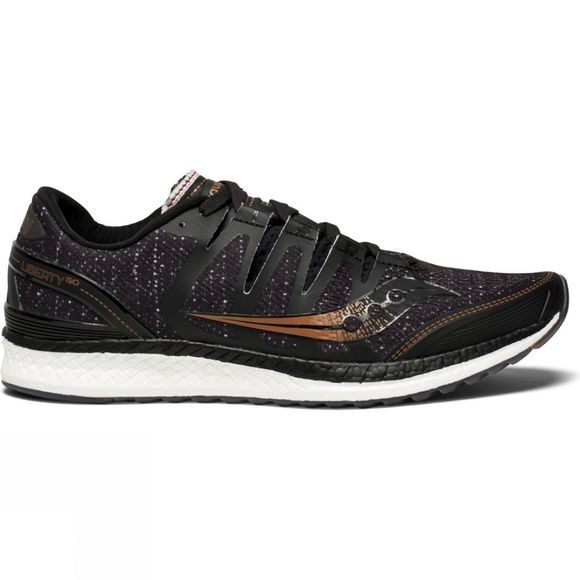 Saucony Mens Liberty ISO Black/Denim/Copper