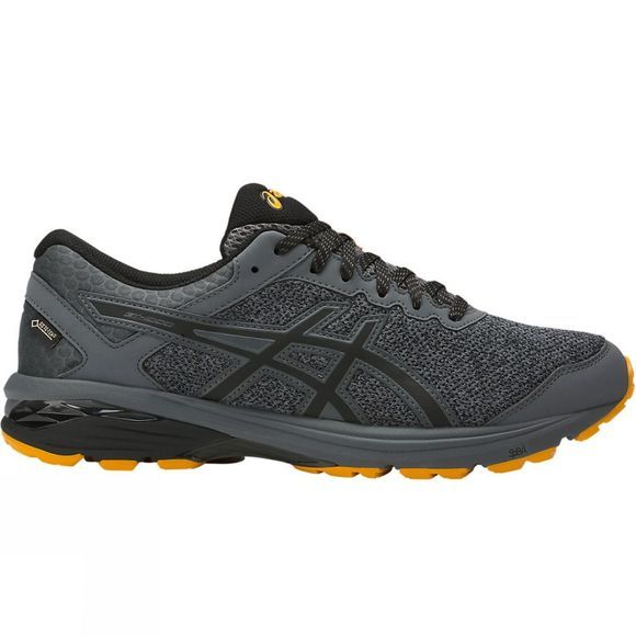 Asics Men's GT-1000 6 G-TX Carbon/Black/Gold Fusion