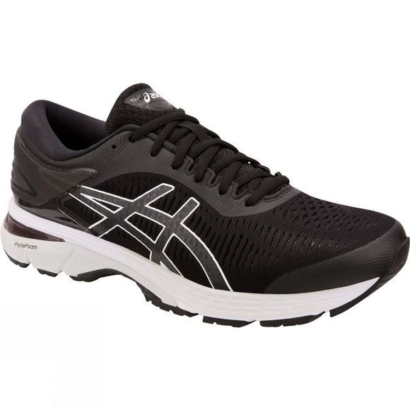 Asics Mens GEL-Kayano 25 Black/Glacier Grey