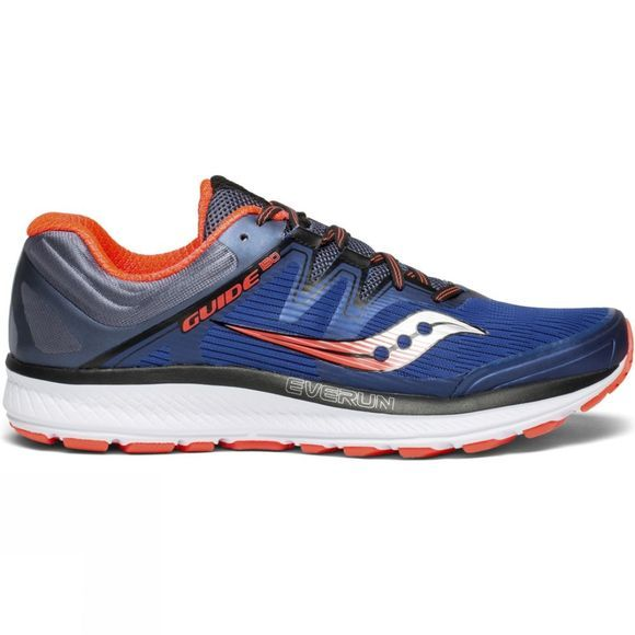 Saucony Mens Guide ISO Blue / Grey / ViziRed