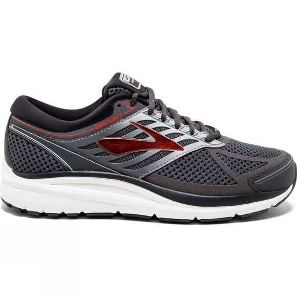 Brooks Mens Addiction 13 Narrow Ebony/Black/Red