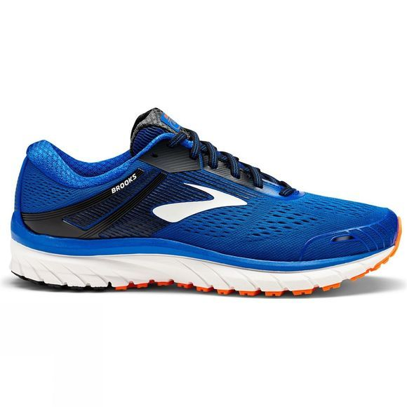 Brooks Mens Adrenaline GTS 18 Extra Wide Blue/Black/Orange