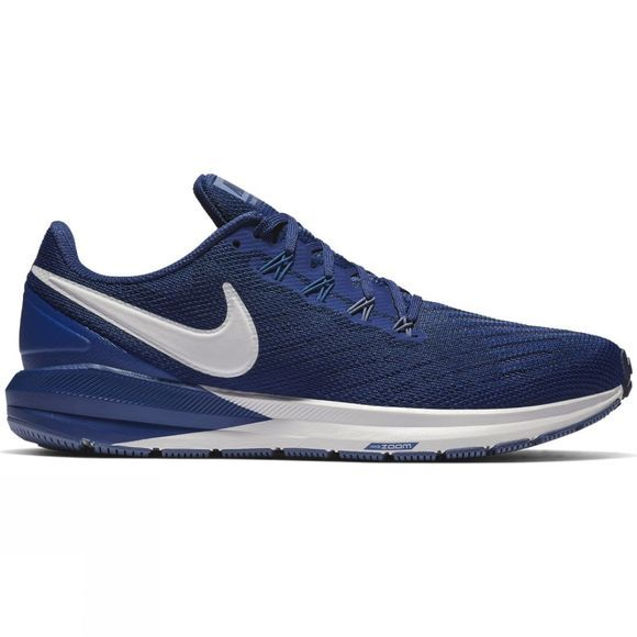 Nike Mens Air Zoom Structure 22 Blue Void/Vast Grey-Gym Blue