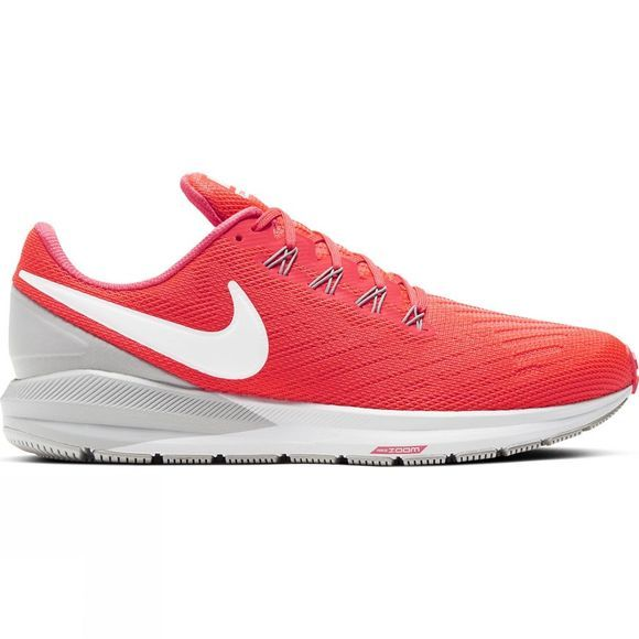 Nike Mens Air Zoom Structure 22 Laser Crimson/white-It Smoke Grey