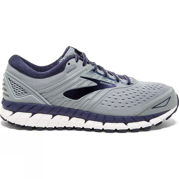 Brooks Mens Beast '18 Extra Wide  Grey/Navy/White