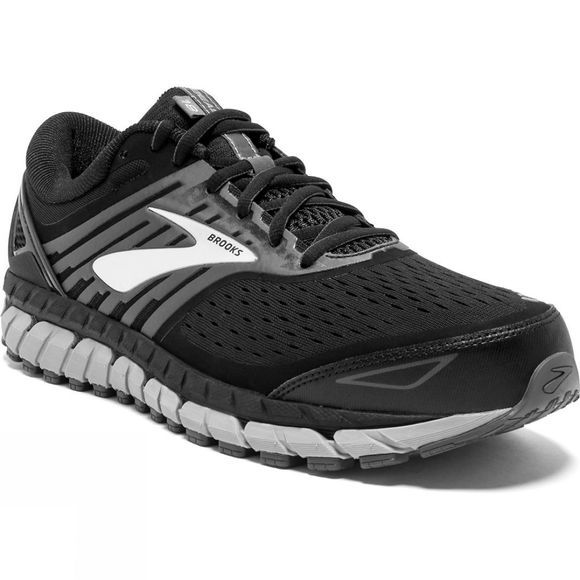 Brooks Mens Beast '18 Extra Wide  Black/Grey/Silver