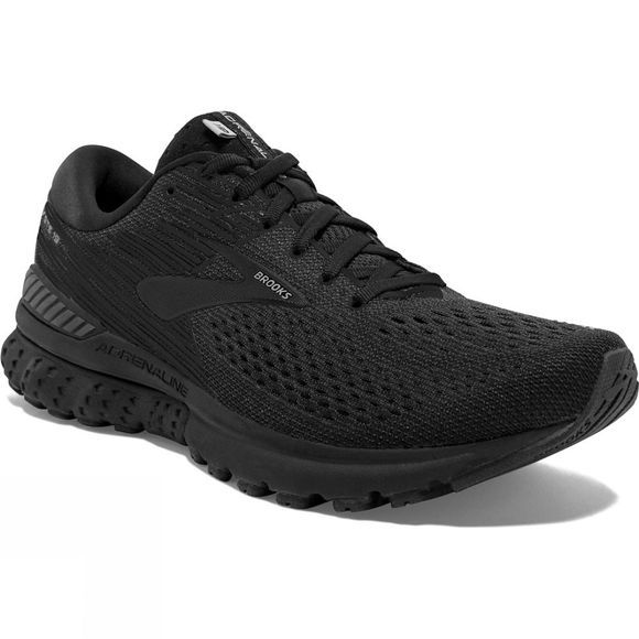 Brooks Mens Adrenaline GTS 19 Black/Ebony