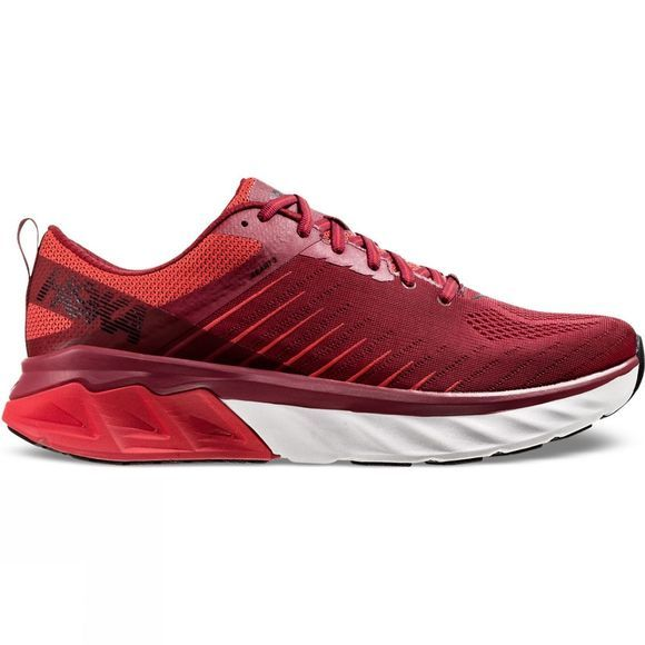 Hoka One One Mens Arahi 3  Rio Red/ Poppy Red