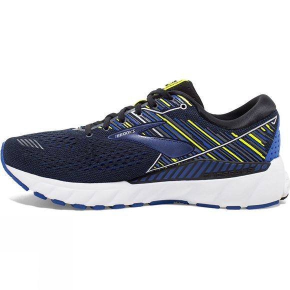 Brooks Men's Adrenaline GTS 19 Narrow Black/Blue/Nightlife
