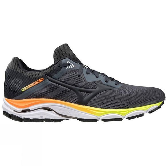 Mizuno Mens Wave Inspire 16 Castlerock / Phantom / Shocking Orange