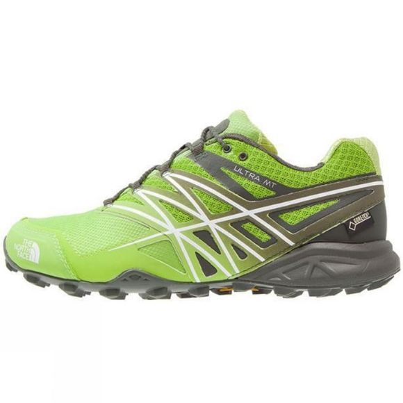 The North Face Men's Ultra MT GTX Lime Green/TNF White