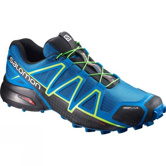 Salomon Men's Speedcross 4 CS Shoe Mykonos Blue/Hawaiian Surf/Lime Punch
