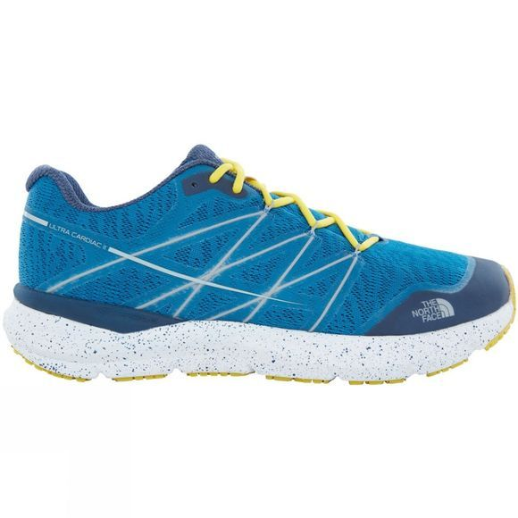 The North Face Men's Ultra Cardiac II Seaport Blue/Acid Yellow