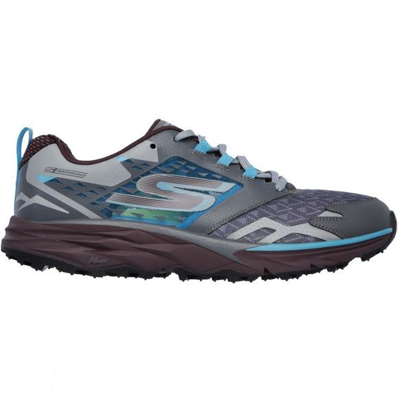 Skechers Men's GOtrail Shoe Charcoal Multi