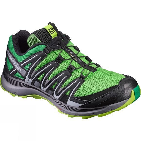 Salomon Mens XA Lite Shoe Classic Green/Lime Green