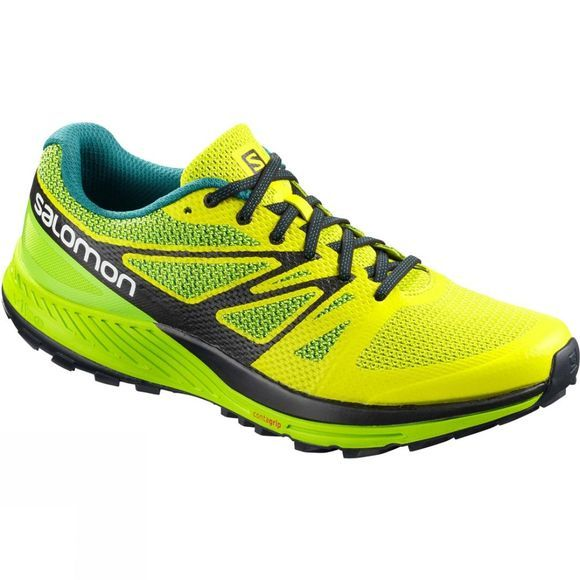 Salomon Mens Sense Escape Shoe Sulphur Spring/Lime Green/Black
