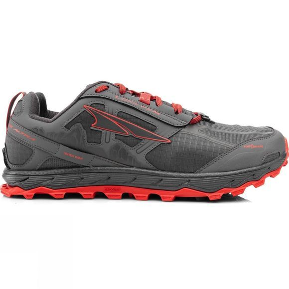 Altra Mens Lone Peak 4.0  Grey/Orange