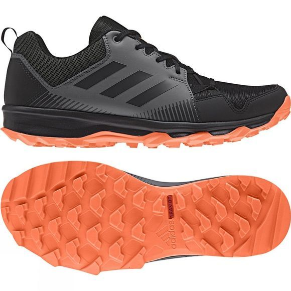 Adidas Mens TERREX Tracerocker Core Black/Carbon S18/Hi-Res Orange S18