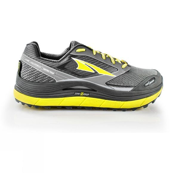 Altra Mens Olympus 2.5 Shoe Grey / Lime