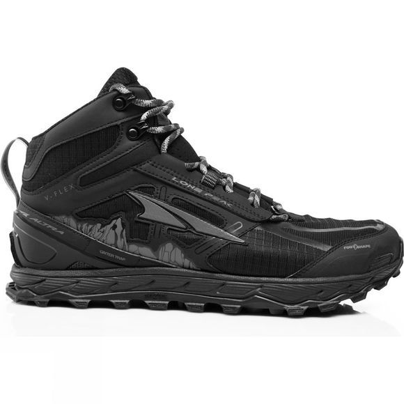 Altra Lone Peak 4 (mid waterproof) Black