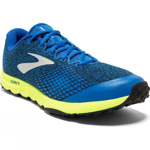Brooks Mens PureGrit 7 Blue/Lime/Black