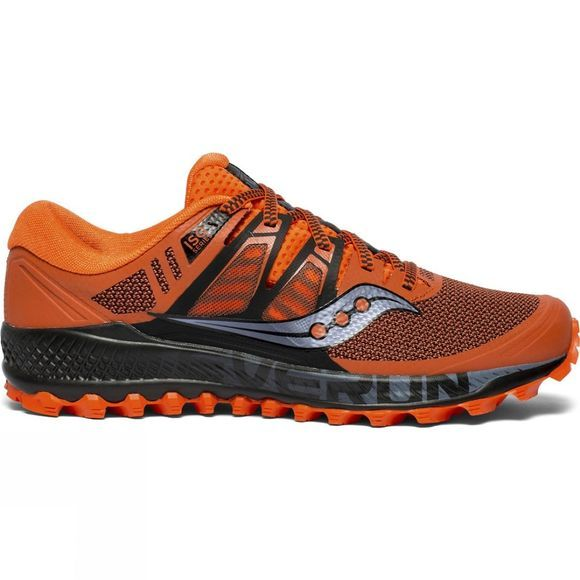 Saucony Mens Peregrine ISO Orange / Black