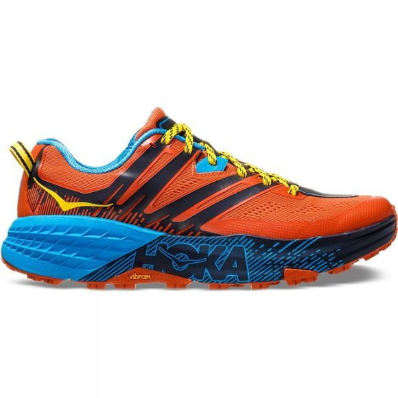 Hoka One One Mens Speedgoat 3  Nasturtium/ Spicy Orange