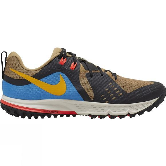 Nike Men's Air Zoom Wildhorse 5 BEECHTREE/UNIVERSITY GOLD-OFF NOIR