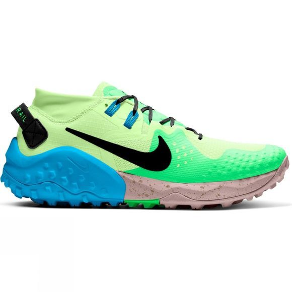 Nike Mens Air Zoom Wildhorse 6 Barely Volt/Black-Poison Green