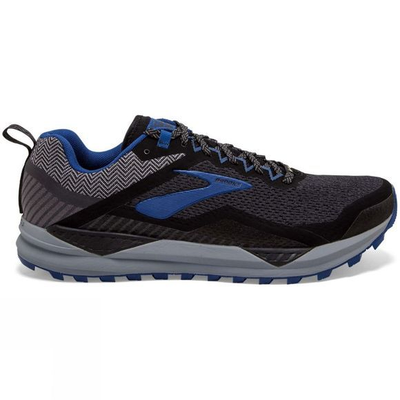 Brooks Men's Cascadia 14 GTX Black/Grey/Blue