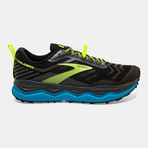 Brooks Men's Caldera 4 Black/Blue/Nightlife