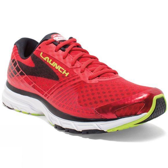 Brooks Men's Launch 3 Red/White