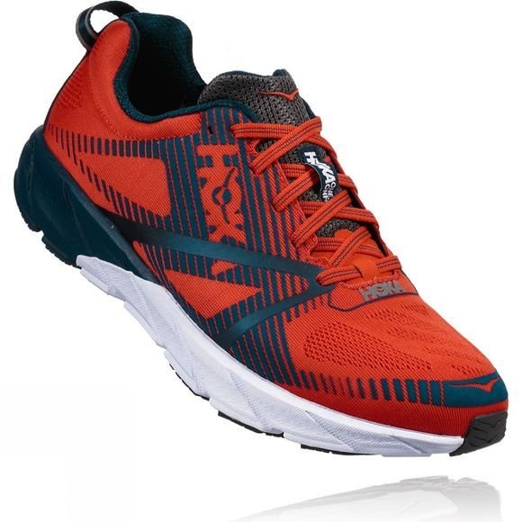 Hoka One One Men's Tracer 2 Tangerine Tango / Blackened Pearl