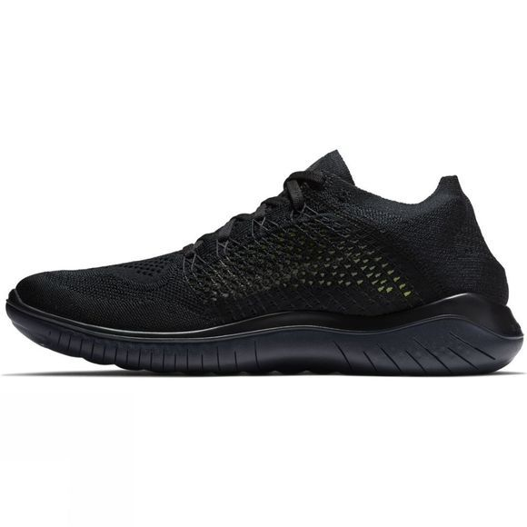 Nike Mens Free RN Flyknit Black/Anthracite