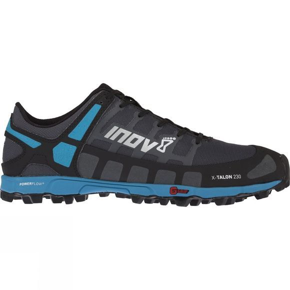Inov-8 Mens X-Talon 230 Trail Running Shoe Grey/ Blue