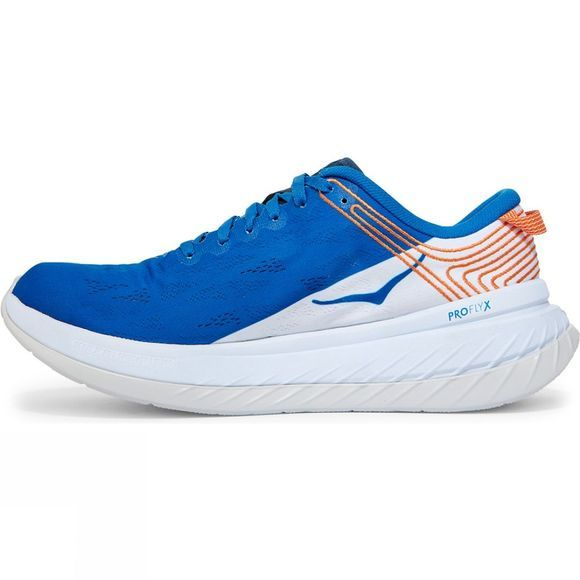 Hoka One One Men's Carbon X Imperial Blue/White
